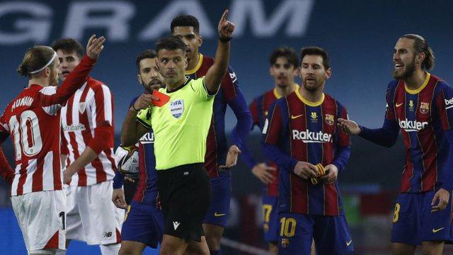 Messi pezullohet dy ndeshje, Barcelona apelon vendimin