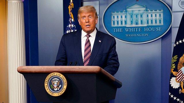 Në fjalën e lamtumirës, Presidenti Trump uron administratën