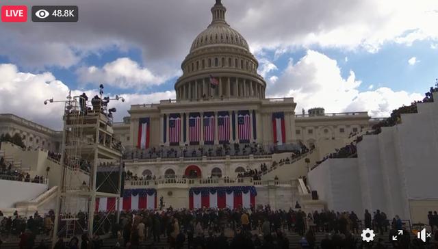 Live/ Ceremonia e Inaugurimit të Joe Biden si president i Amerikës