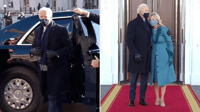 Joe Biden mbërrin në Shtëpinë e Bardhë: S'ka