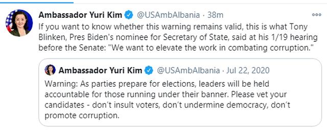 Paralajmërim i përsëritur: Ju lutem kontrolloni kandidatët.