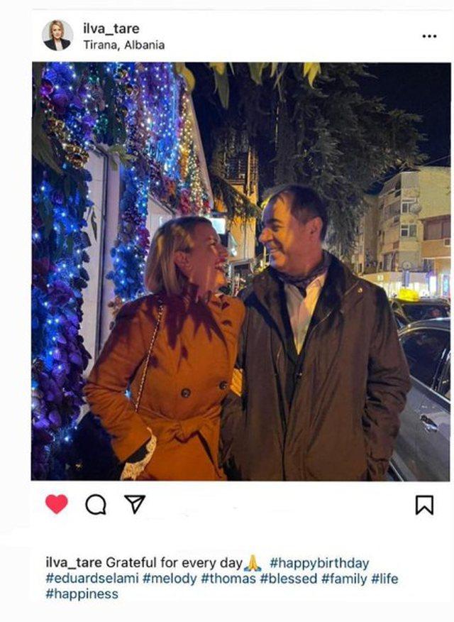 Një foto me Eduardin dhe me një fjali, gazetarja Ilva Tare uron