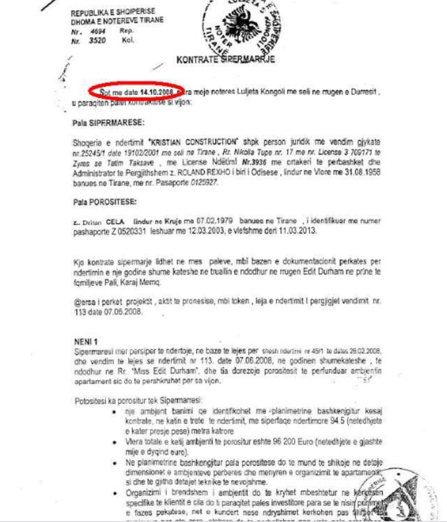 Dokumentet / Kallëzimi në Prokurori për vjedhje të