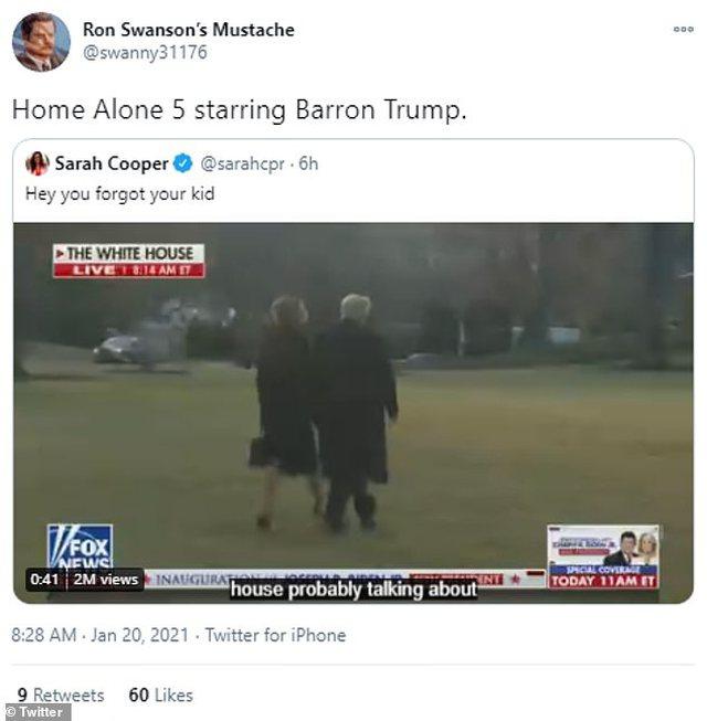Pse rrjeti po zien për adoleshentin e familjes, Barron Trump? E