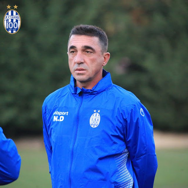 Nevil Dede leaves the management of the Tirana club