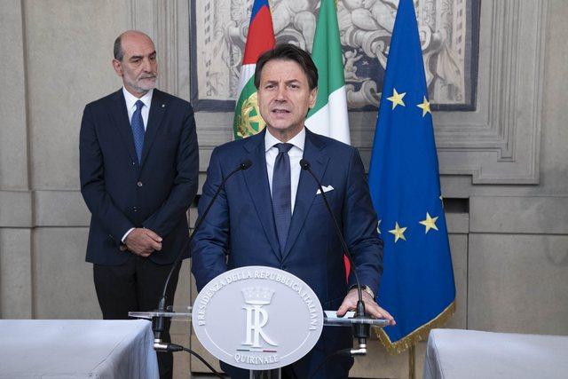 Kriza qeveritare, jep dorëheqjen kryeministri i Italisë Giuseppe Conte