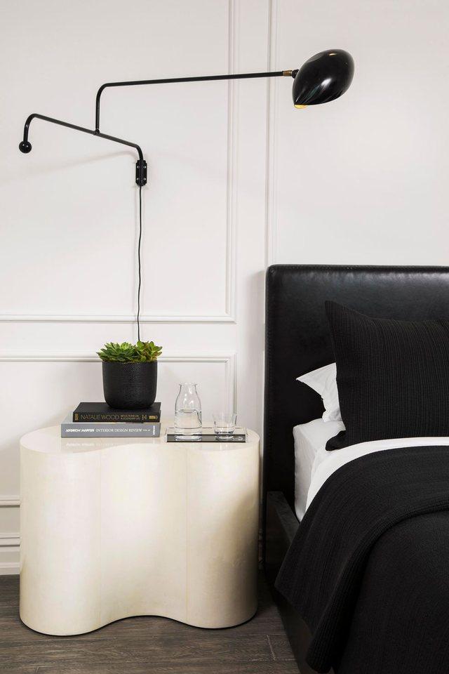 Dhomat e gjumit bardh e zi, një stil pa kohë