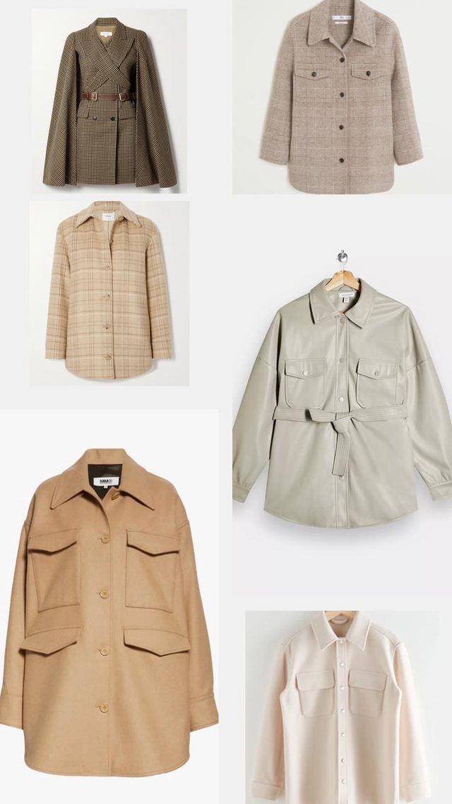 Jacket-shirt, how to combine the most important element of the winter wardrobe