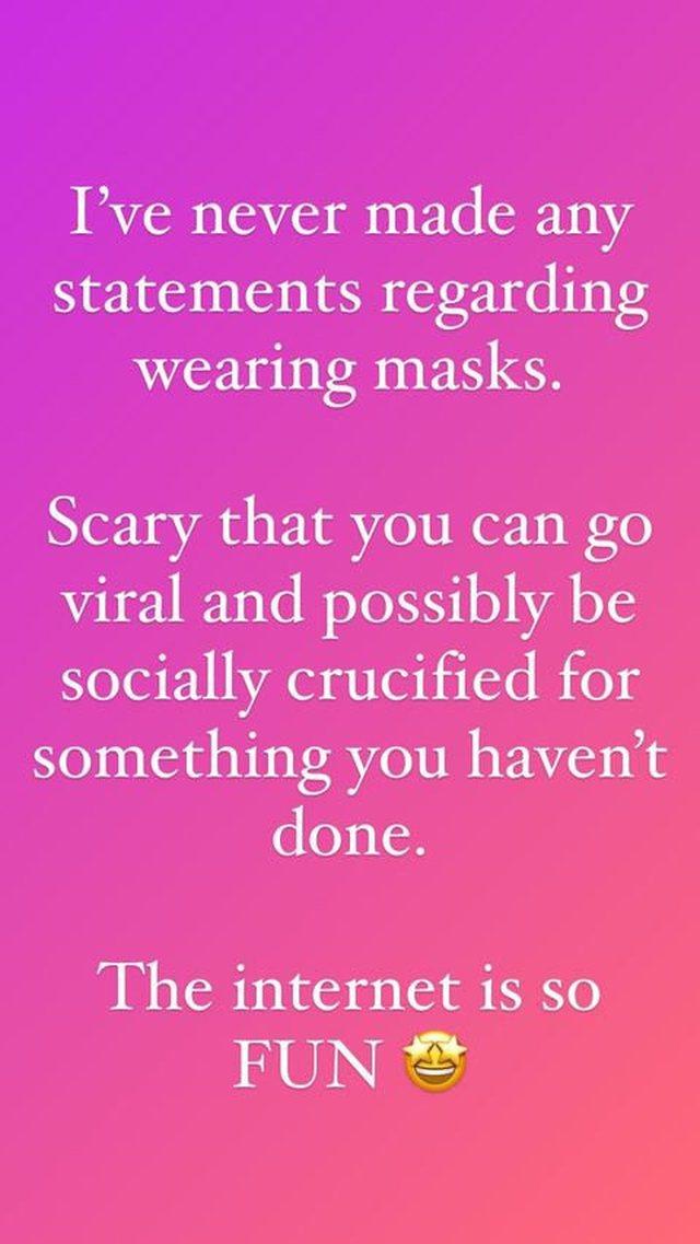 Unë besoj në Univers, nuk mbaj maskë. Megan Fox