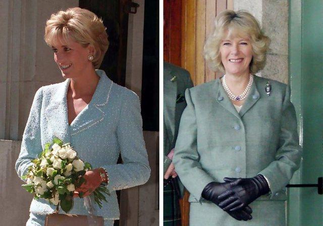 Të gjitha herët që Camilla kopjoi Lady Diana-n