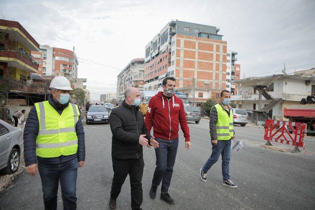 Veliaj tek punimet në Astir: Po urbanizojmë gjithë zonën, i