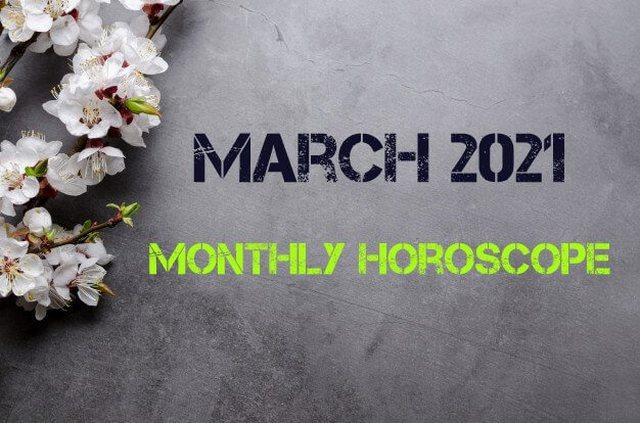 Horoskopi për muajin Mars 2021