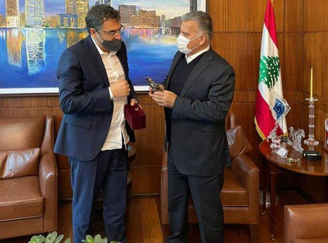 Ministri Çuçi prej dy ditësh në Bejrut me qëllim