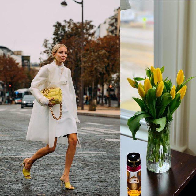 Si ta kombinojmë të verdhën e tulipanit si blogeret e famshme