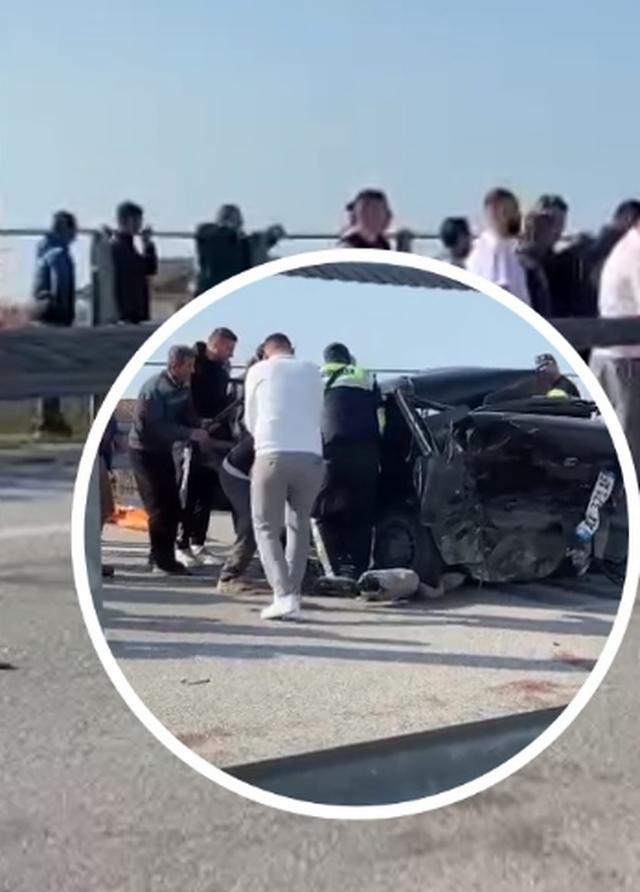 Aksident i trefishtë në autostradën Vlorë-Fier, raportohet