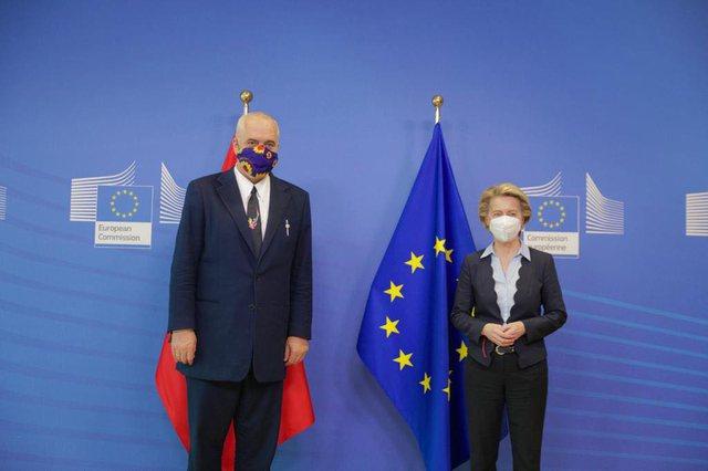 Rama për vizitën e tij në Bruksel: Ditë pozitive dhe