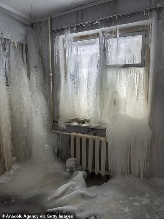 Foto nga qyteti i ngrirë në Rusi! Temperaturat kanë shkuar -50