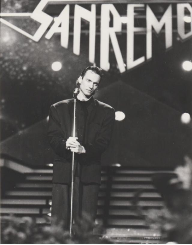 Fotoja që Biagio Antonacci e kujton me dhimbje: San Remo 1988 e kisha
