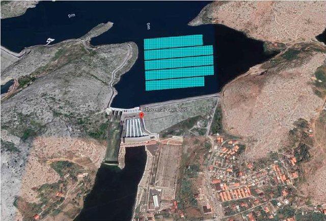 Impiant fotovoltaik lundrues në HEC-in e Vaut të Dejës! Kreu i