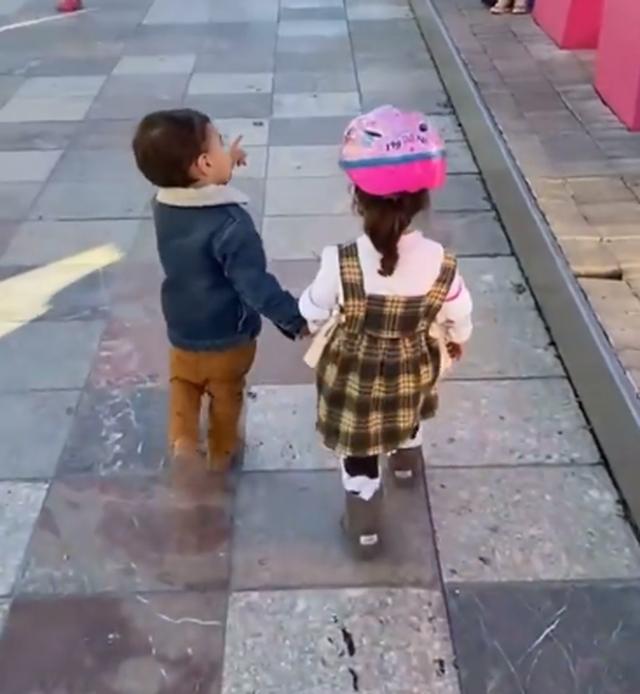 Veliaj poston videon e Kajan me shoqen Mei: S`harrohet dashuria e parë