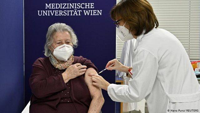 Vdiq pasi mori vaksinën! Pas Koresë së Jugut edhe Austria