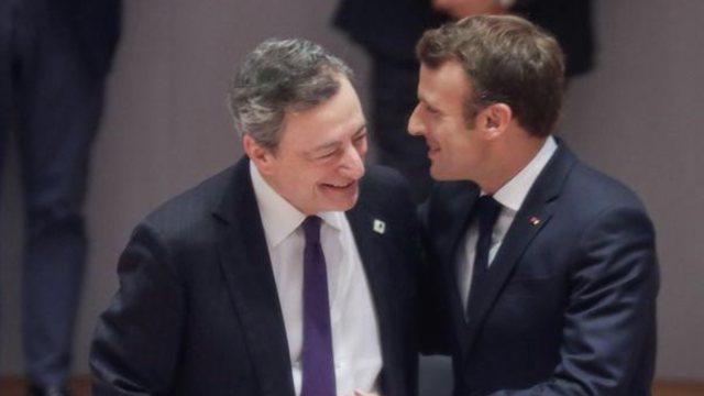 """Mario Dragi dhe Emanuel Makron, """"çifti"""" i ri që mban"""