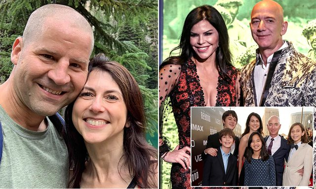 Jeff Bezos's ex-wife falls in love at age 50, here is who she married