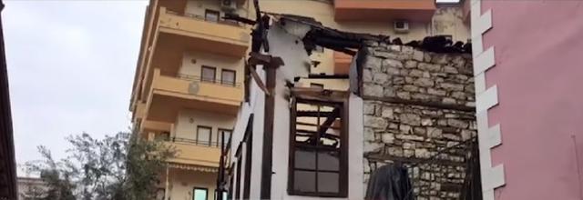 Zjarri në shtëpinë në Berat, nxirret trupi i pajetë i