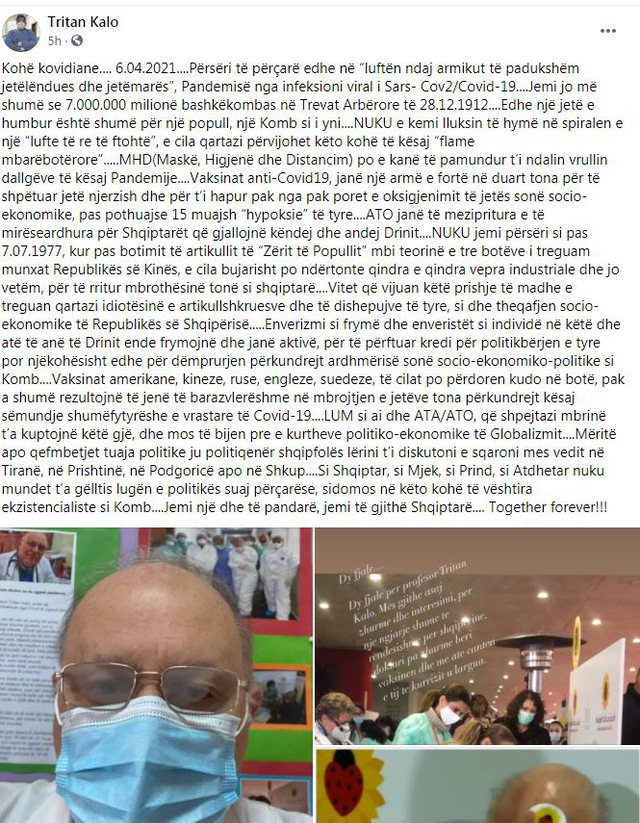 Russian or Chinese vaccines protect life. Blessed are those who understand and