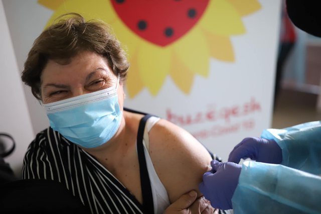 Mass immunization of the population continues! Today 10791 people have been