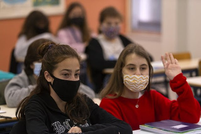 Although infection rates remain high, Greece is reopening schools