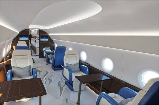 """PHOTO / Here is what the new presidential plane """"Air Force One"""" will"""