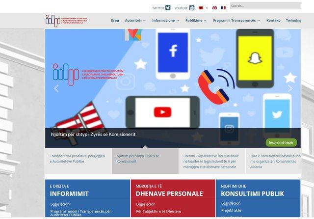 Zyra e Komisionerit për përdorimin e të dhënave: Po kryhen