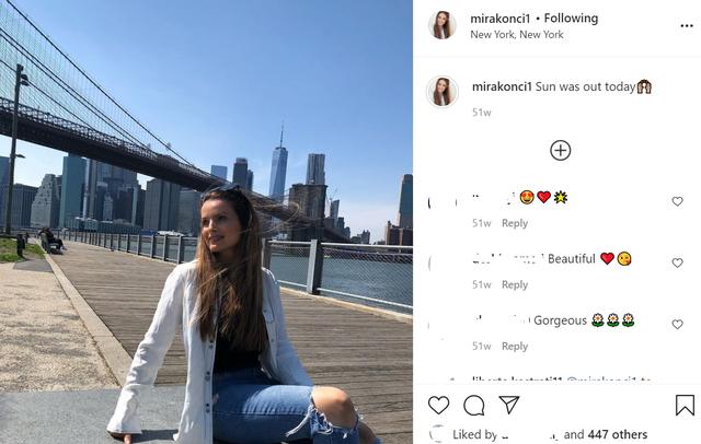 Mira Konçi dhe pranvera e New York-ut!