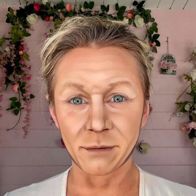 Artistja e makeup-it që mund të transformohet si Mbretëresha