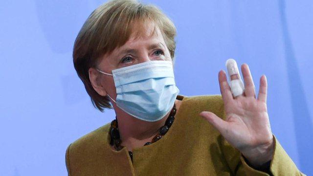 Gjithmonë një hap ndryshe nga të tjerët, Angela Merkel