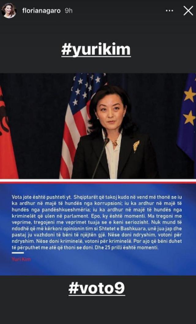 Meta komenton Yuri Kim: Do e duartrokisja po të mos kishte thënë