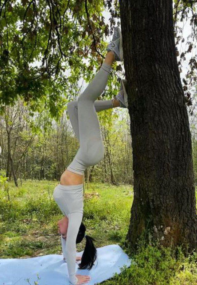 Xhensila dhe stili ndryshe i stërvitjes në oborrin e