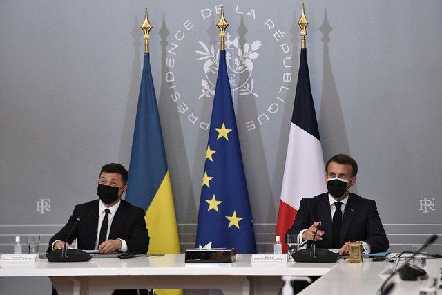 Presidenti i Ukrainës dhe Macron ftojnë Rusinë për bisedime