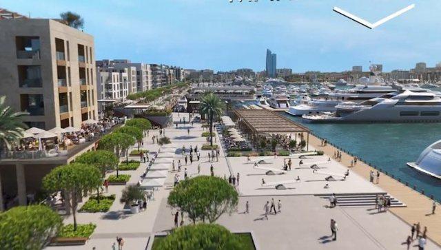 Video/ Si do të duket Porti i Ri i Durrësit dhe zona përreth