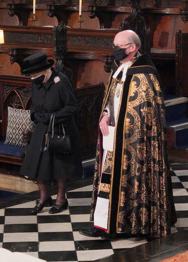 FOTO/ Mbretëresha Elizabet në ceremoninë mortore të Princit