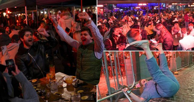 Fotot nga Britania mbrëmë si dëshmi se çfarë shkaktoi