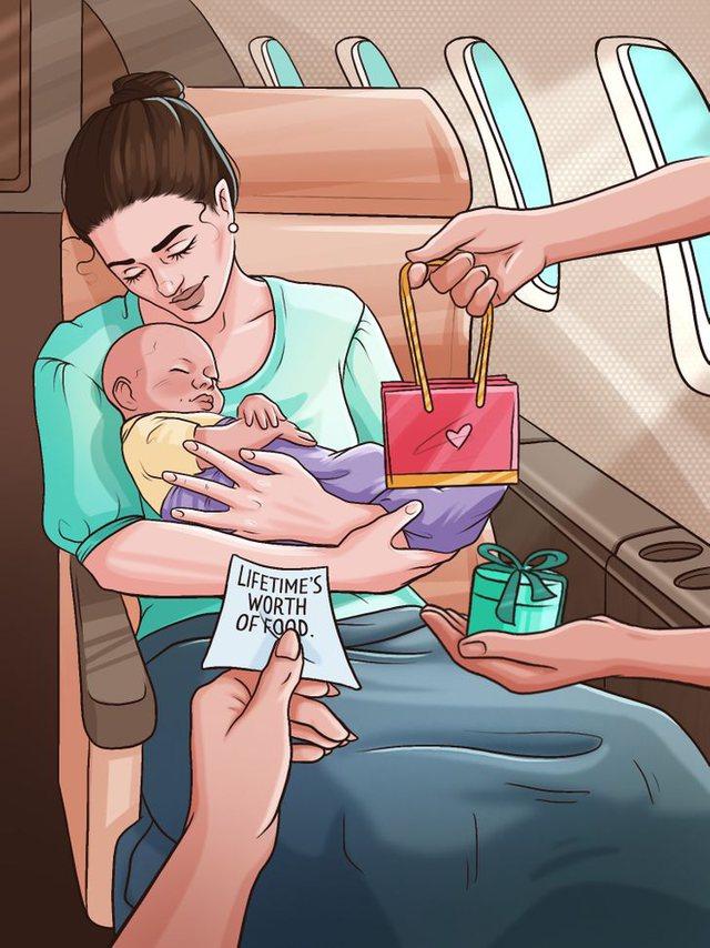 Çfarë ndodh me fëmijën nëse një grua lind