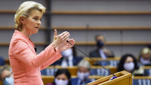 Ursula von der Leyen njofton në shqip: 145.000 vaksina nga BE, ja kur do