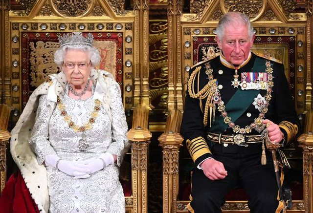 The queen will not abdicate and after her the king will be William. The