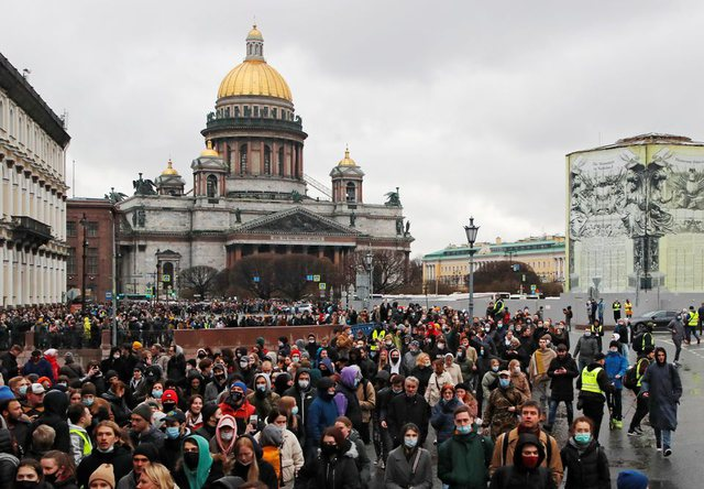 PHOTO / Navalny case in Russia: 1700 arrested in the first hours of anti-Putin