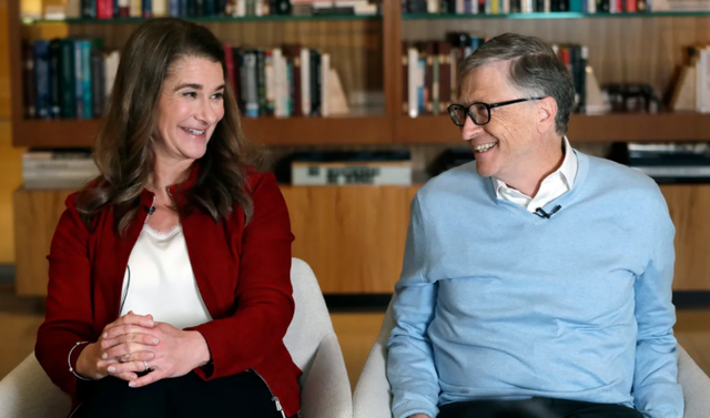 They get divorced after 27 years, but what is the love story of Bill who wrote
