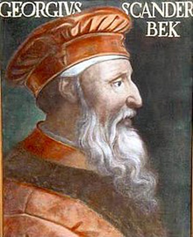 Do you know why Skanderbeg was called George?