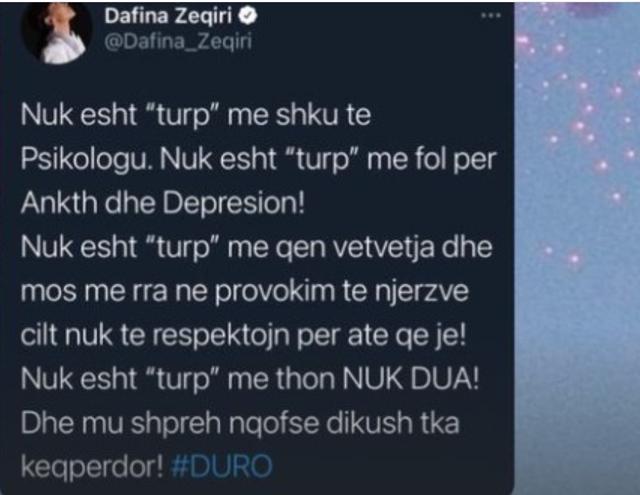 A është Dafina Zeqiri ambasadorja më e mirë e kauzës