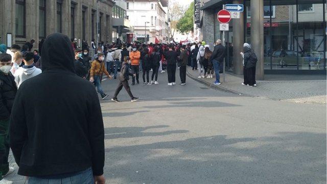 VIDEO/ Emigrantët myslimanë protesta kundër Izraelit dhe